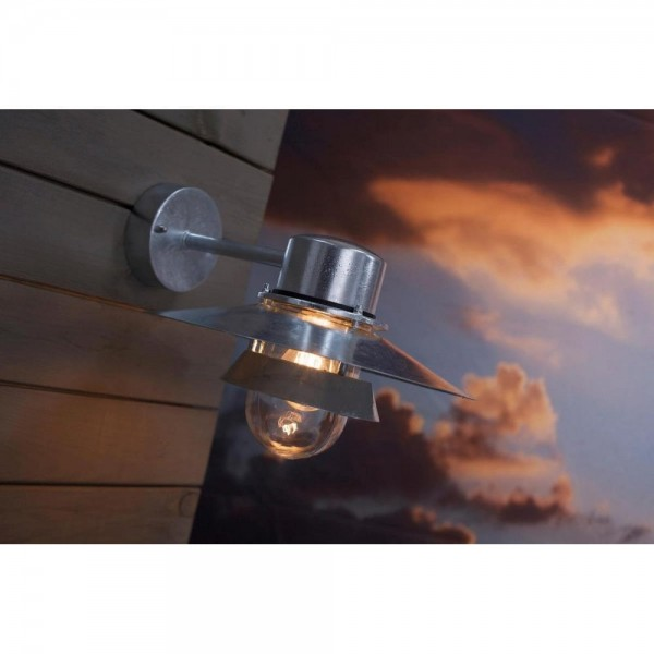 Nordlux Virum 24111031 Galvanized Wall Light