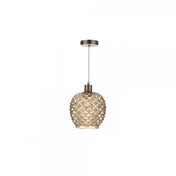 Dar MOS6535 Mosaic Antique Gold Pendant Light