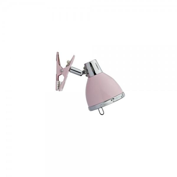 Dar OSA4103 Osaka  Pink 1 Light Clip On Spotlight