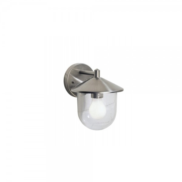 Dar POO1544 Poole Steel Wall Light