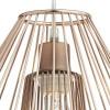Dar Lighting NEE6564 Needle Non Elec Copper Pendant