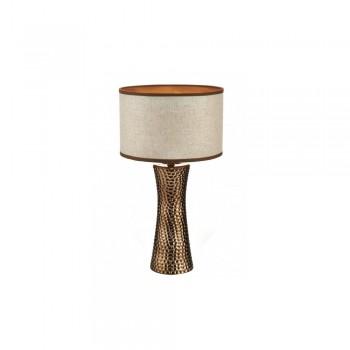 Dar Lighting BOK4263/X Bokara Table Lamp Bronze complete with Shade