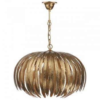 Dar Lighting ATT0535 Atticus 5 Light Pendant Gold