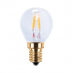 Segula 50204 LED Vintage Line 2.2W 2200K Dimmable E14 Clear LED Mini-Bulb