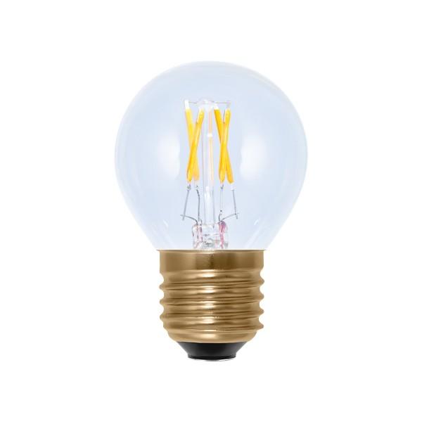 Segula 50208 Vintage Line 2.7W 2200K Dimmable E27 Clear Golfball LED Bulb