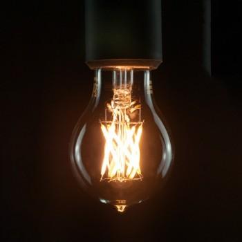 Segula 50278 Vintage Line 6W 2200K Dimmable E27 Clear LED Bulb