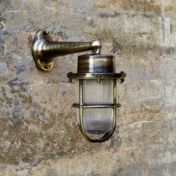 David Hunt HAR1575 Harbour Antique Brass Exterior Wall Light