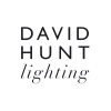 David Hunt Hyde HYD18 18-Light Pendant In Chrome With Smoke Blue Metal Shades