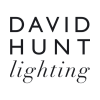 David Hunt HYD12 Hyde 12 Light Pendant In Polished Chrome With Black Metal Shades