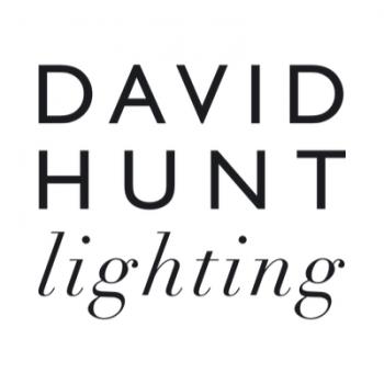 David Hunt HYD07 Hyde Single Wall Light In Polished Chrome With Smoke Blue Metal Shade