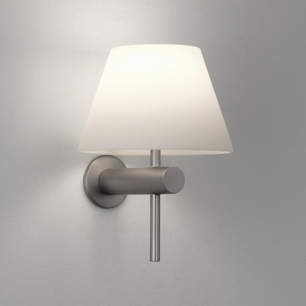 Astro Roma Matt Nickel Bathroom Wall Light
