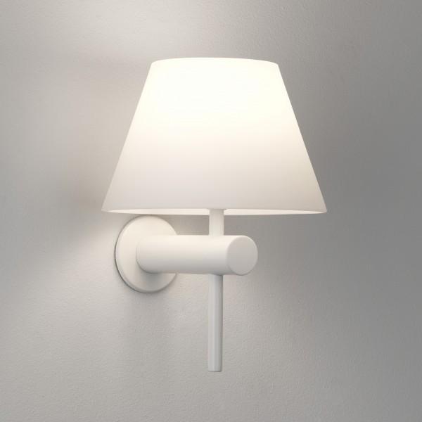 Astro Roma Matt White Bathroom Wall Light