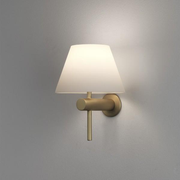 Astro Roma Matt Gold Bathroom Wall Light