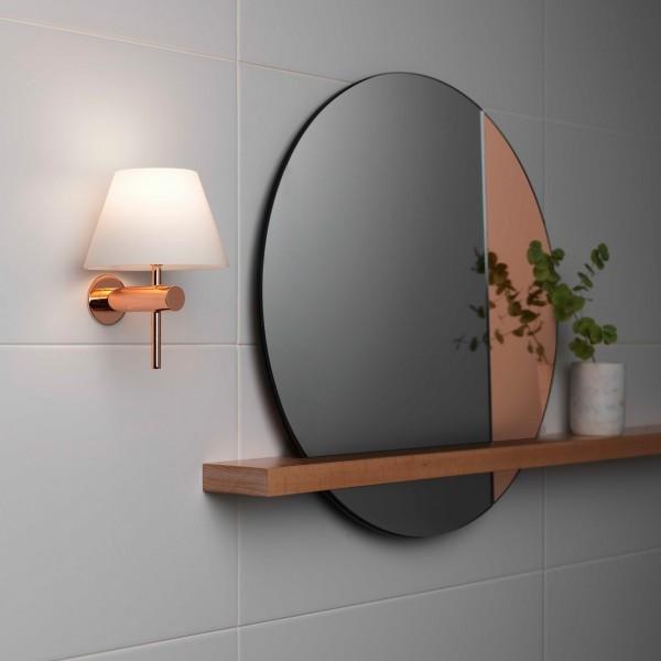 Astro Roma Polished Copper Bathroom Wall Light