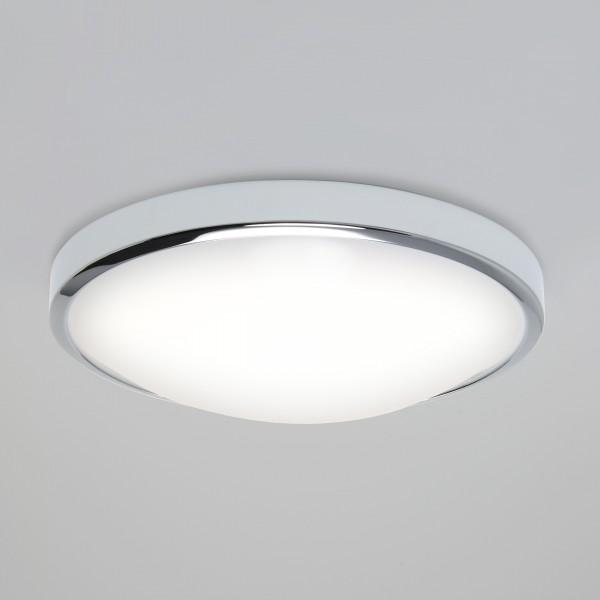 Astro Osaka 350 Polished Chrome LED Ceiling Light