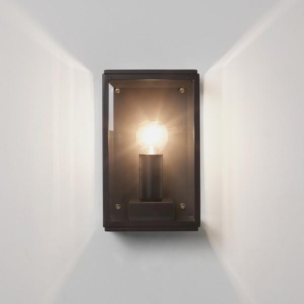 Astro Homefield 130 Black Outdoor Wall Light
