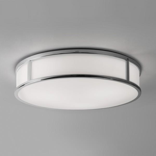 Astro Mashiko 400 Round Polished Chrome Ceiling Light