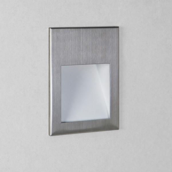 Astro Borgo 54 2700K Brushed Stainless Steel Bathroom LED Wall Light