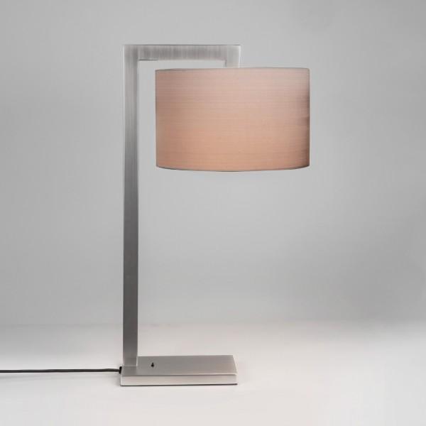 Astro Ravello Matt Nickel Table Lamp
