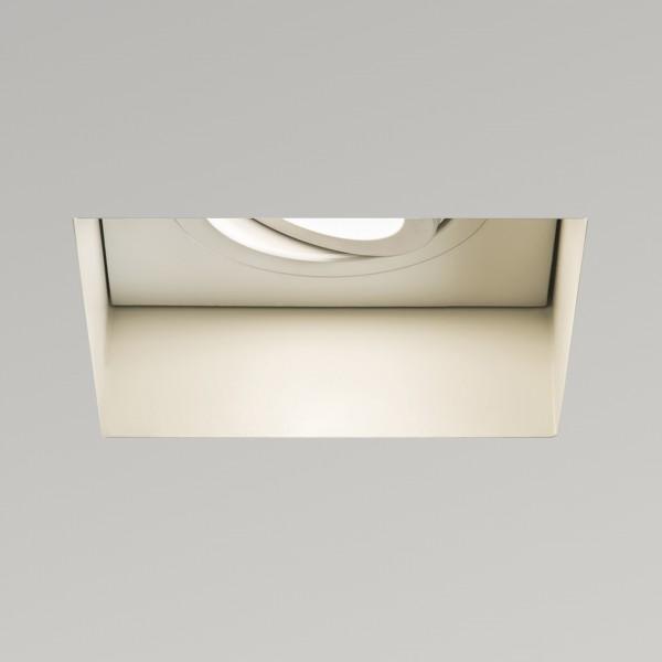 Astro Trimless Square GU10 White Adjustable Downlight