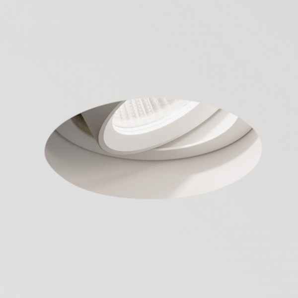 Astro Trimless Round White Adjustable LED Downlight