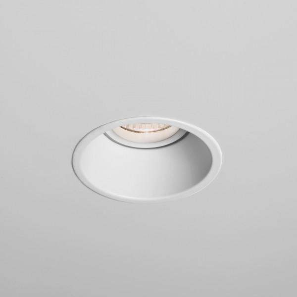 Astro Minima Round GU10 White Fire-Rated Downlight