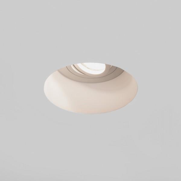 Astro Blanco Round GU10 Plaster Adjustable Downlight