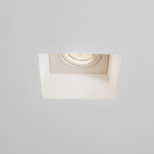 Astro Blanco Square GU10 Plaster Adjustable Downlight