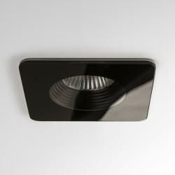 Astro Vetro Square Black Fire-Rated Bathroom LED Downlight