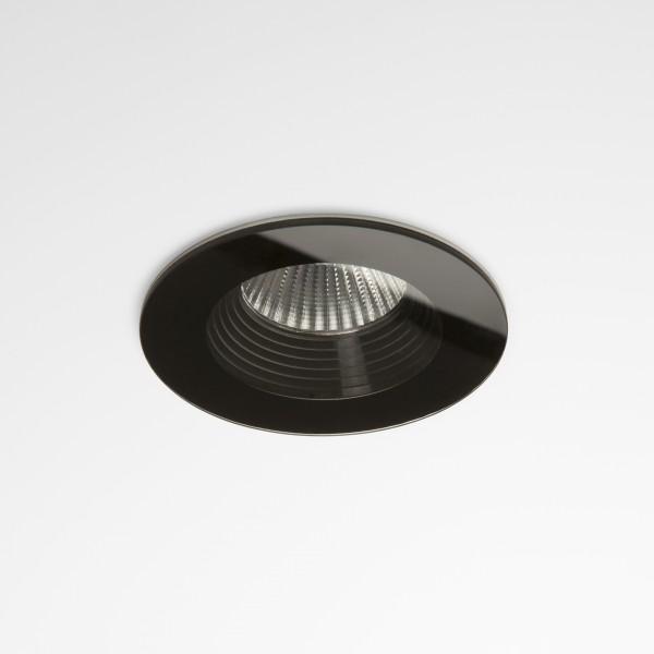 Astro Vetro Round Black Fire-Rated Bathroom LED Downlight