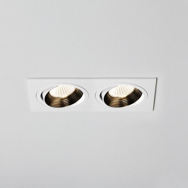 Astro Aprilia 2x6.1W 2700K Twin White Adjustable LED Downlight