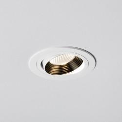 Astro Aprilia 6.1W 2700K Round White Adjustable LED Downlight