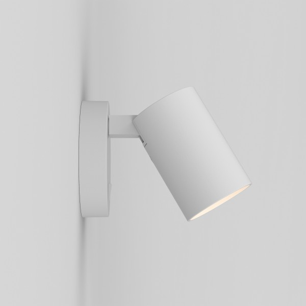 Astro Ascoli Single Switched White Spotlight