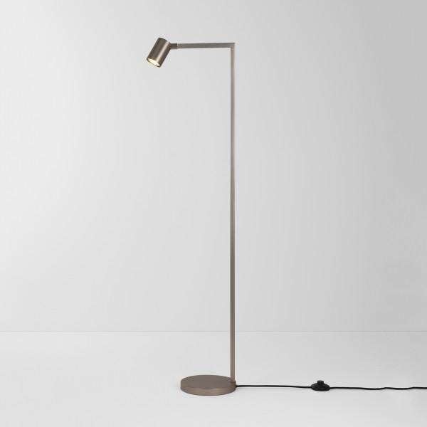 Astro Ascoli Matt Nickel Floor Lamp