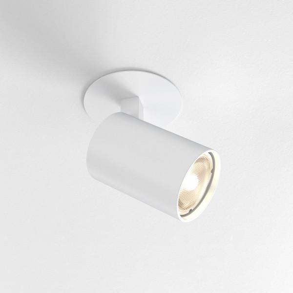 Astro Ascoli Single Recessed White Spotlight