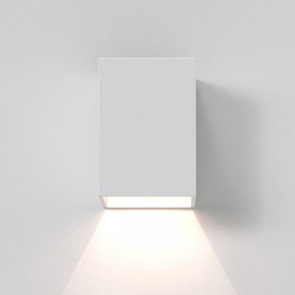 Astro Oslo 100 White Outdoor LED Wall Light