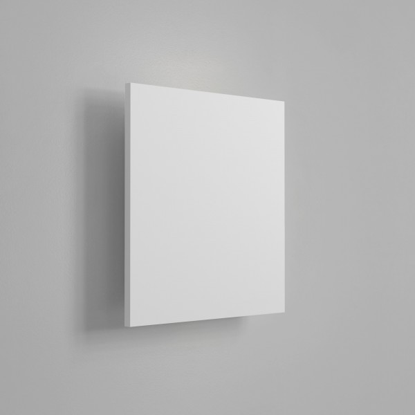 Astro Eclipse 300 Square 2700K Plaster LED Wall Light