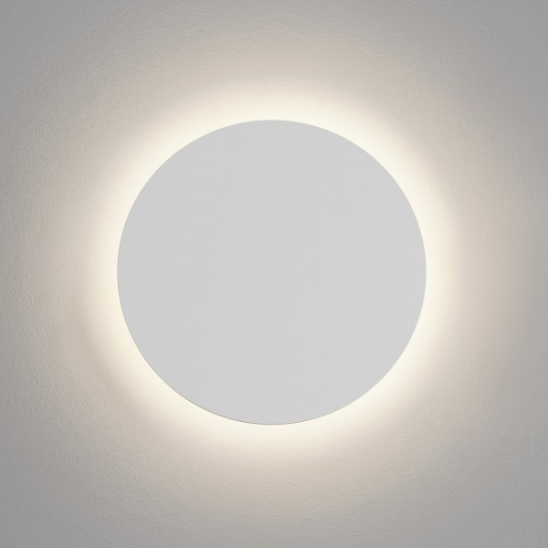Astro Eclipse 350 Round 2700K Plaster LED Wall Light