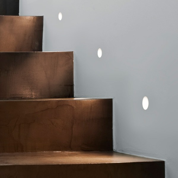 Astro Trimless Leros LED White Wall Light