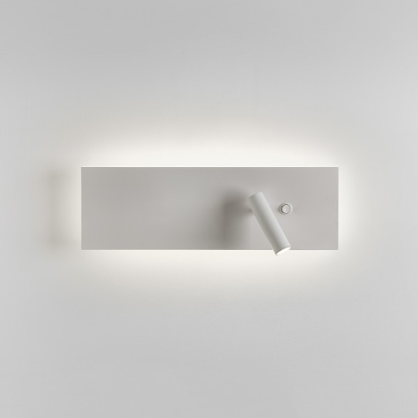 Astro Edge Reader Switched White LED Wall Light