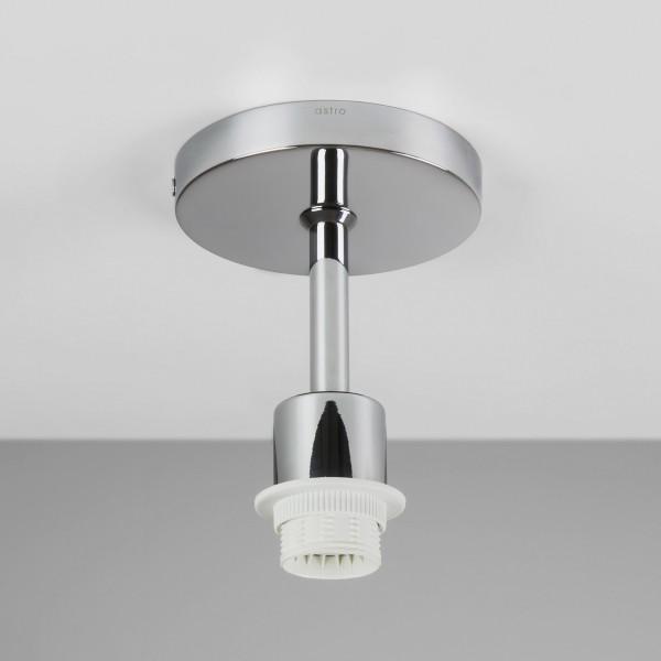Astro Semi Flush Polished Chrome Ceiling Light