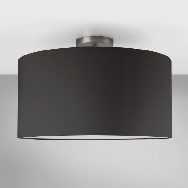 Astro Semi Flush Matt Nickel Ceiling Light