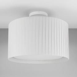 Astro Semi Flush Unit Indoor Ceiling Light in Textured White