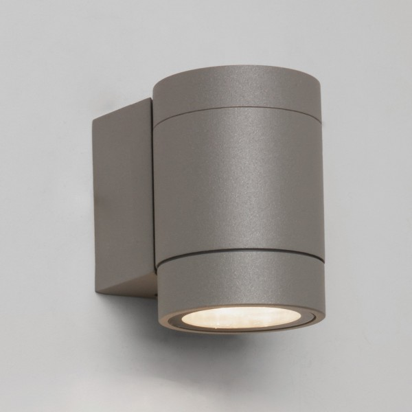 Astro Dartmouth Single Textured Grey Outdoor LED Wall Light
