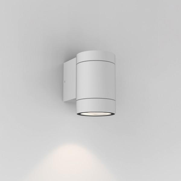 Astro Dartmouth Single Textured White Outdoor Wall Light