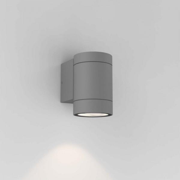 Astro Dartmouth Single Textured Grey Outdoor Wall Light