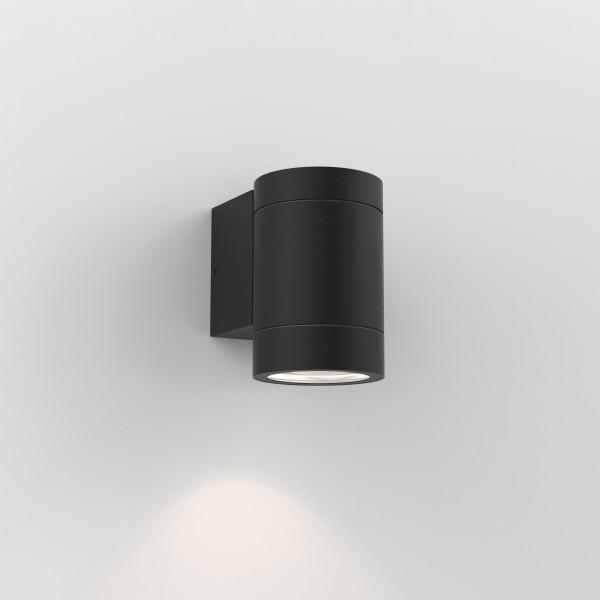 Astro Dartmouth Single Textured Black Outdoor Wall Light