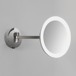 Astro Mascali Round Polished Chrome LED Bathroom Mirror Light
