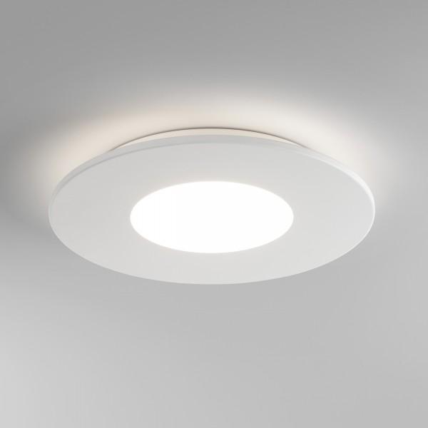 Astro Zero Round White LED Ceiling Light