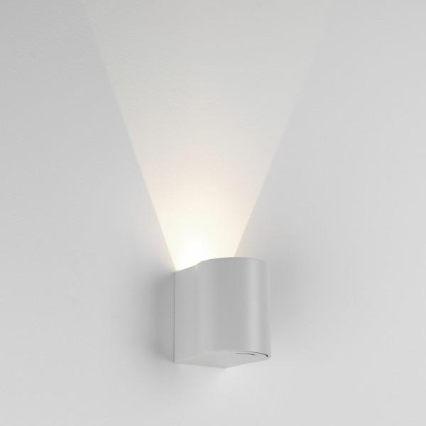 Astro Dunbar 100 White Outdoor LED Wall Light